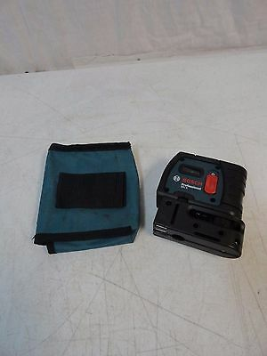 BOSCH GPL 5  5 POINT LEVELING ALIGNMENT LASER LEVEL Used Good Condition