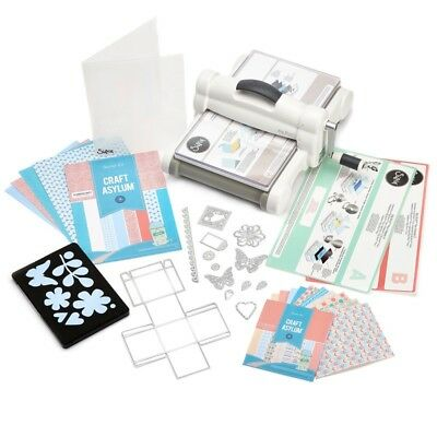 Sizzix 660515 Big Shot Plus con Starter Kit e Fustella Embossing A4