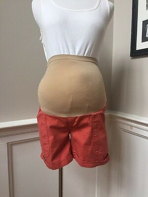 Oh Baby by Motherhood Maternity Full Panel Shorts Size Small