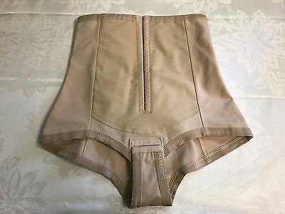 Bellefit Support Postpartum girdle corset Duel front closure Medium nude beige