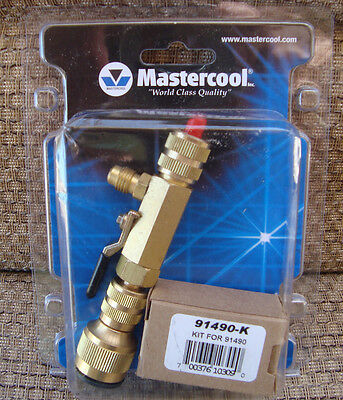 Mastercool 91496 Valve Core Removal Tool Installer w/AccessPort & Extra 91490-K
