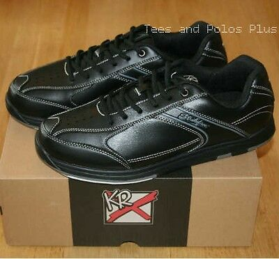 "KR Strikeforce ""Flyer"" Tenpin Bowling Shoes, Black."