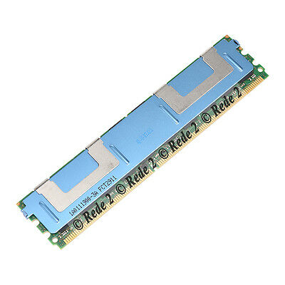 Micron 16GB 2x 8GB DDR2 4RX4 667Mhz PC2-5300F DIMM 240PIN ECC Server RAM Memory