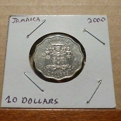 10 DOLLARS COIN - 2000 - Jamaica