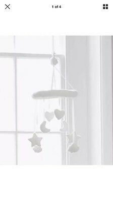 The Little White Company Cot Baby Mobile New With Tags