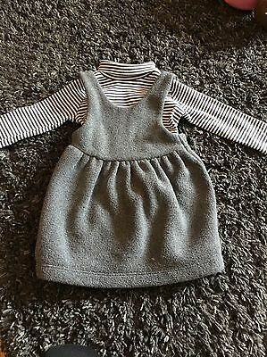 Baby girls Next Dress And Too Outfit Set  6-9months