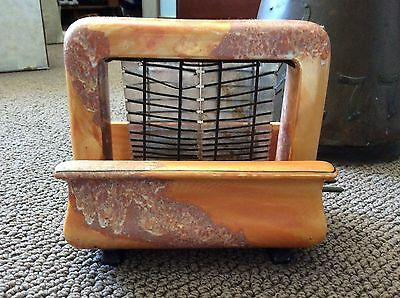 Vintage Pan Electric Onyxide Toastrite Toaster 1920's Orange