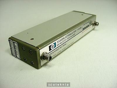 HP Agilent 33322H Programmable Step Attenuator DC - 18 GHz 110 dB 5 Volt TESTED