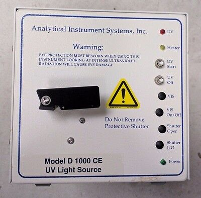 Analytical Instrument Systems D-1000 CE UV Light Source