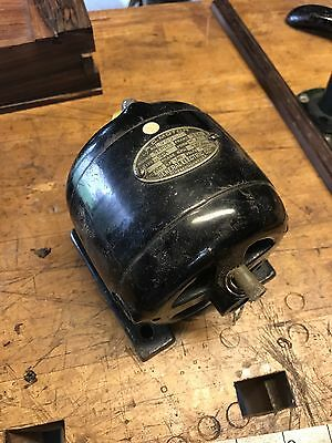 Antique Working A. C. Motor No. 959505 60 Cycle 1/50 HP 110 Volt 1800 RPM