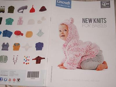 Knitting Baby Babies Pattern Book New  Knits For Babies Lincraft