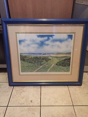 Large Framed Marion Rowland Limited Edition Print