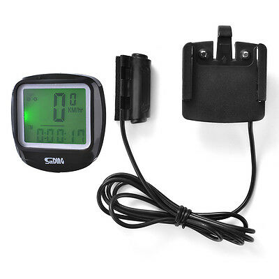 Sunding Bike Bicycle Cycling Computer Speedometer Temperature LCD Display CS415