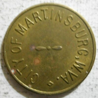 Martinsburg, West Virginia parking token - WV3400A