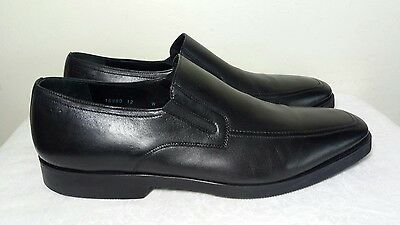 "Magnanni ""Dominguez"" Slip-On Casual Dress Loafers SHOES SIZE 12 MENS BLACK NEW"