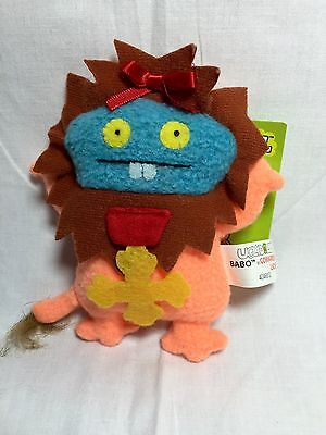 Ugly Dolls Wizard Of Oz Babo/cowardly Lion Gund Clip On Keychain With Tag
