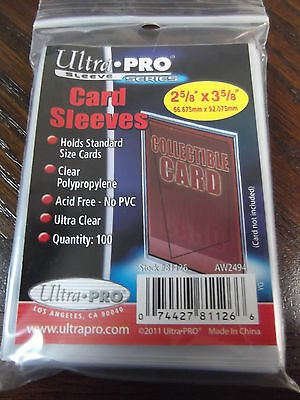 100 Ultra PRO Standard Size Soft Penny Sleeves - Sport - Trading - Gaming Cards