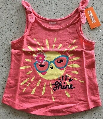 Gymboree Girls Sleeveless Summer Top Size 4T NWT