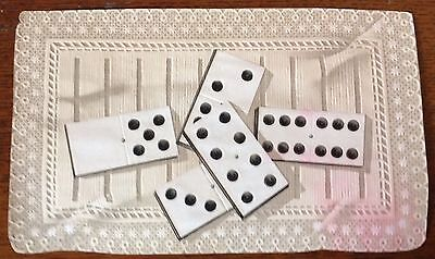 "Old, Embossed Cigar Box Label - Dominoes - 4"" X 6 1/2"" - ( No Title)"