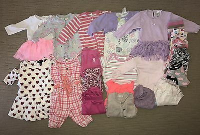 Bulk Bundle Of 00 Baby Girl Winter Clothes