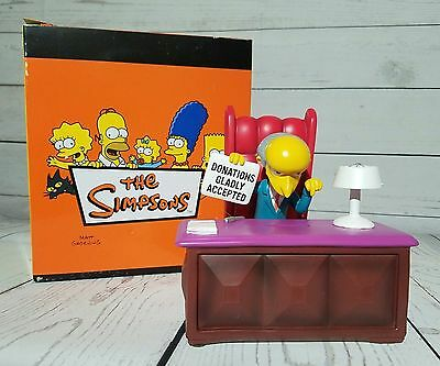 The Simpsons Mr Burns Collectible Coin Bank from Westland #17539
