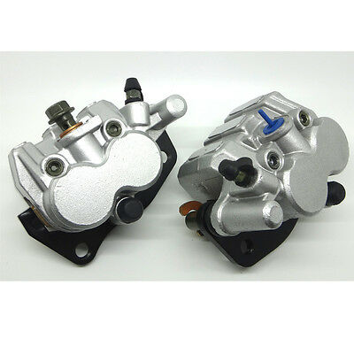 New Front Brake Caliper Set For Yamaha Rhino 660 Yxr 660 2004-2007 Left & Right