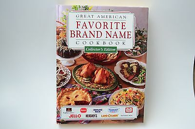 Cookbook Great American Favorite Brand Name Collector's Edition Hardcover Book