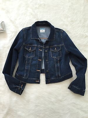 OLD NAVY Maternity Women's Denim Stretch Jean Jacket Size M~ Combine Shipping