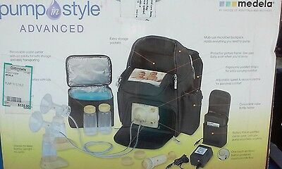 Clean Medela Pump In Style Advanced Backpack Electric Breast Pump