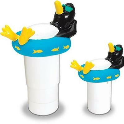 New Swimming Pool Spa Floating Penguin Pool Chlorinator Chlorine Dispenser Swiml