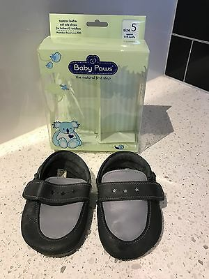 Baby Paws All Leather Pre-Walkers | Size 5 15-18 Months VGUC