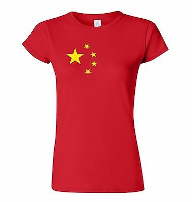 Ladies fit People's Republic of China T Shirt