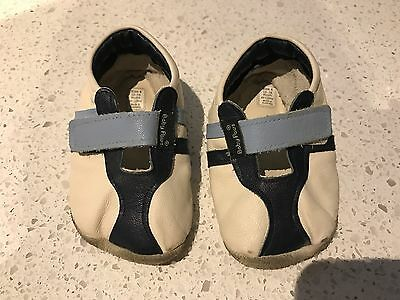 Baby Paws All Leather Pre-Walkers | Size 4 12-15 Months VGUC