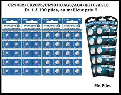 Alkaline Button Cells AG3/AG4/AG10/AG13 1.5V, CR2032/2025/2016 3V, free shipping