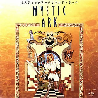 MYSTIC ARK CD Music soundtrack  Limited Edition
