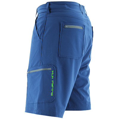 HUK NEXT LEVEL FISHING SHORT --Pick Color and Size--Free Ship
