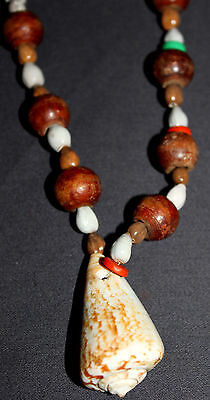 Fine Old New Guinea Handmade Necklace – Late 1960's, PNG