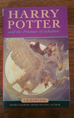Harry Potter and the prisoner of Azkaban HB JK Rowling First Edition 1st Print