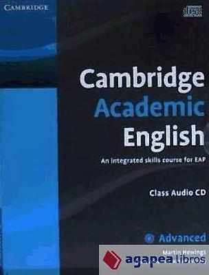 Cambridge Academic English C1 Advanced Class Audio CD. LIBRO NUEVO