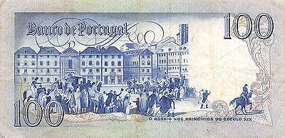 Portugal  100 Escudos  24.2.1981  Series CDV  Circulated Banknote EF11
