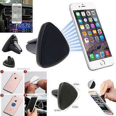 Universal New Car Magnetic Air Vent Mount Holder For Mobile Phone Cell for Model