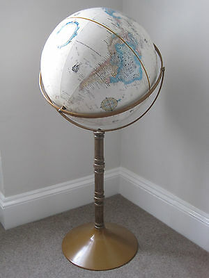 "Floorstanding Repogle World Classic  Series 16"" Globe"