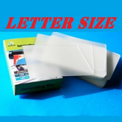Corbin Quality 100 LETTER Laminating Pouches 9 x 11-1/2  3 Mil FREE CARRIER