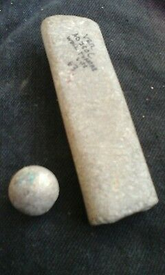 roman antiquities sharpening stone and clay marble