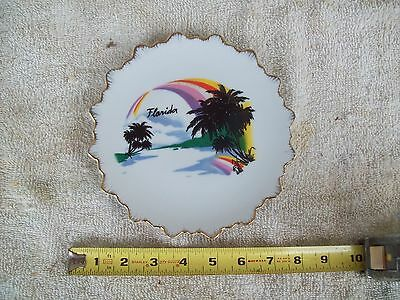 Vintage  China Souvenir From Florida Plate