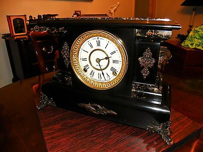 Antique Seth Thomas Mantel Clock Scarce Adamantine Model 1899
