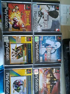 6 giochi originali psx ps1 playstation
