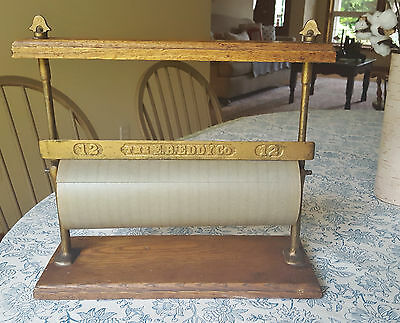 Primitive Antique E.B. Eddy Co. General Store Country Grocery Paper Dispenser.