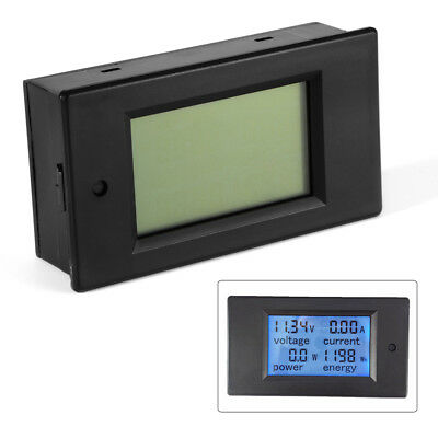 DC100V 100A Digital Power Meter Monitor Voltage Module Voltmeter Ammeter BI509