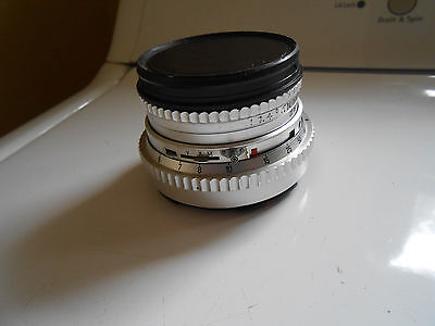 Carl Zeiss PLANAR  80mm f/2.8 medium format CHROME lens, made in West Germany